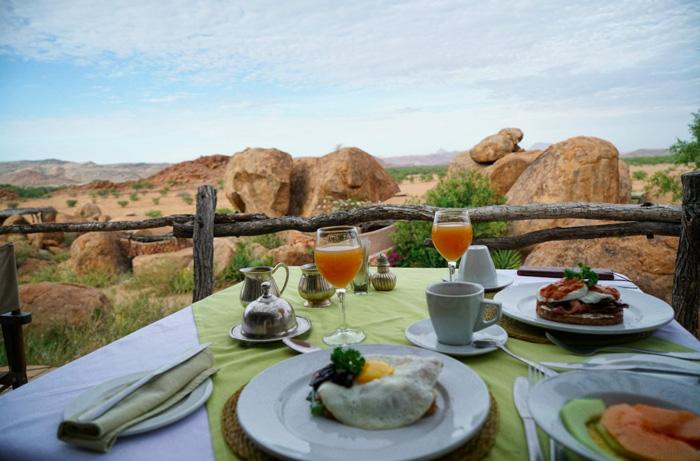 Frühstück-Camp-Kipwe