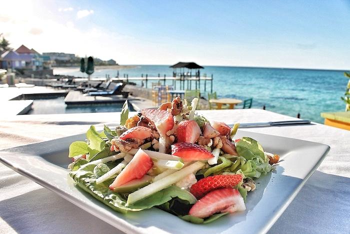 Signature Salad bahamas