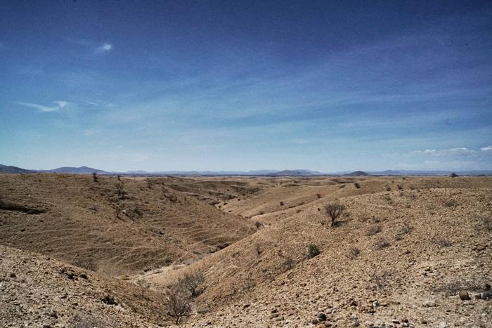 Lanschaft-Namibia