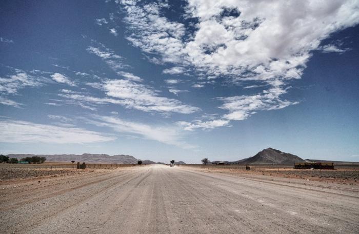 Lanstrasse-Namibia