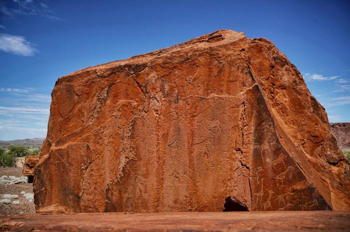 Namibia-Felsgravuren