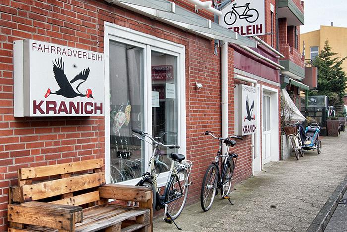 Norderney Sehenswürdigkeiten-Fahrradverleih