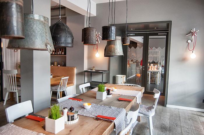 Norderney Sehenswürdigkeiten-Frühstücksraum