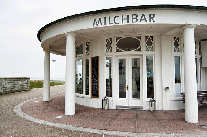 Norderney Sehenswürdigkeiten-Milchbar