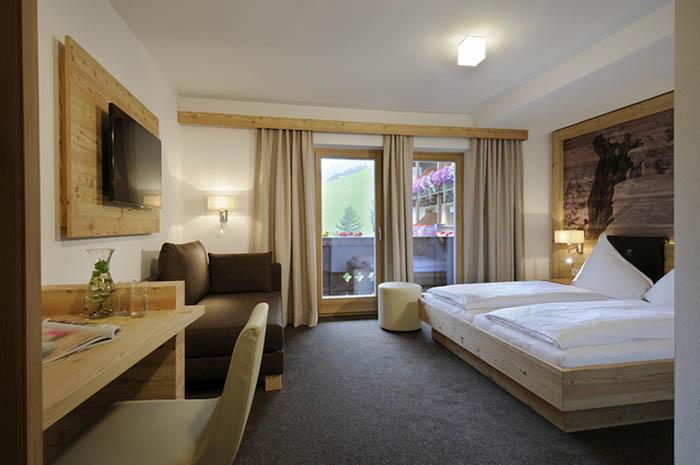 Saalbach Hinterglemm-Photocredit Hotel Marten_Zimmer