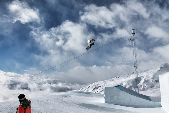 Slopestyle Laax Tag 3