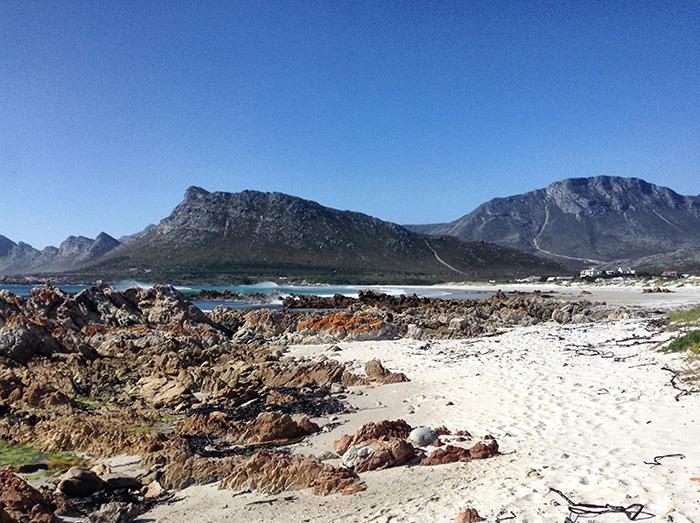 Suedafrika-Sandlandschaft