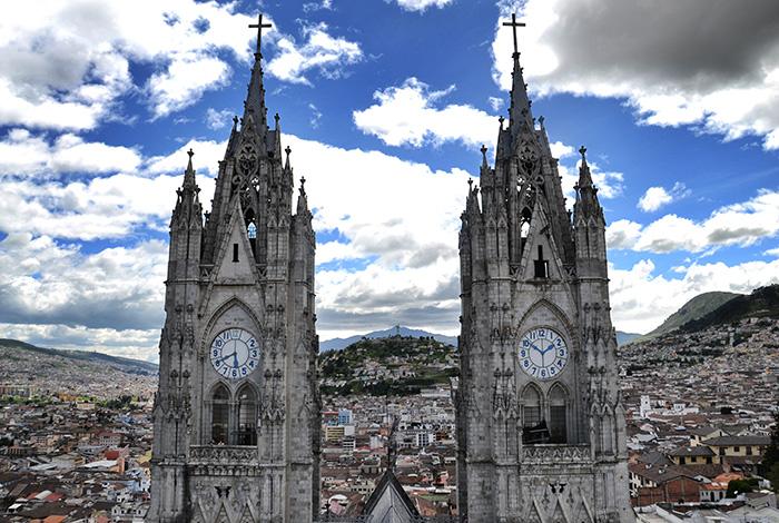 Urlaub in Quito - Türme