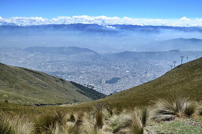 Urlaub in Quito - Landschaft