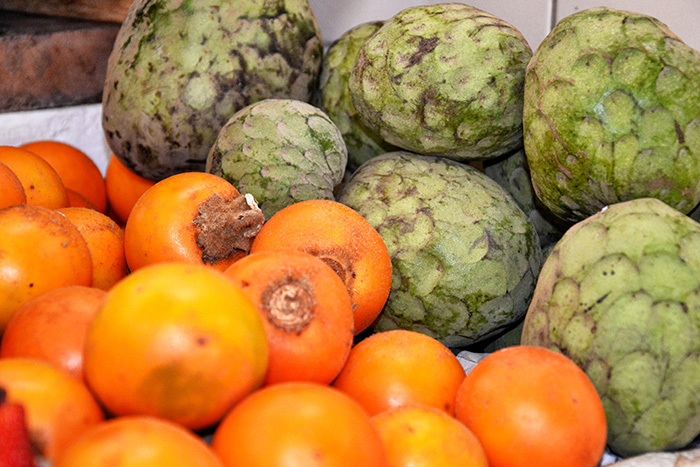 Urlaub in Quito - Gemüse