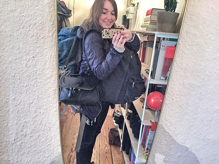 Alleine in den Urlaub - Selfie