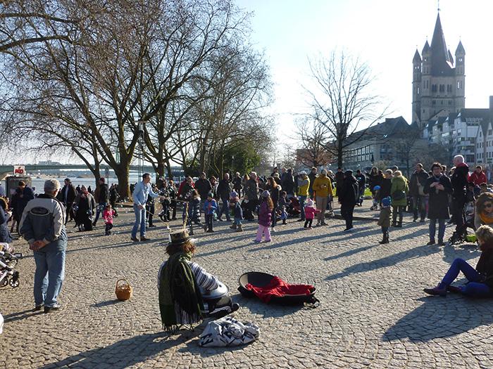 Köln im Frühling - altstadt