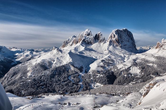 Dolomiti Superski Gebirge