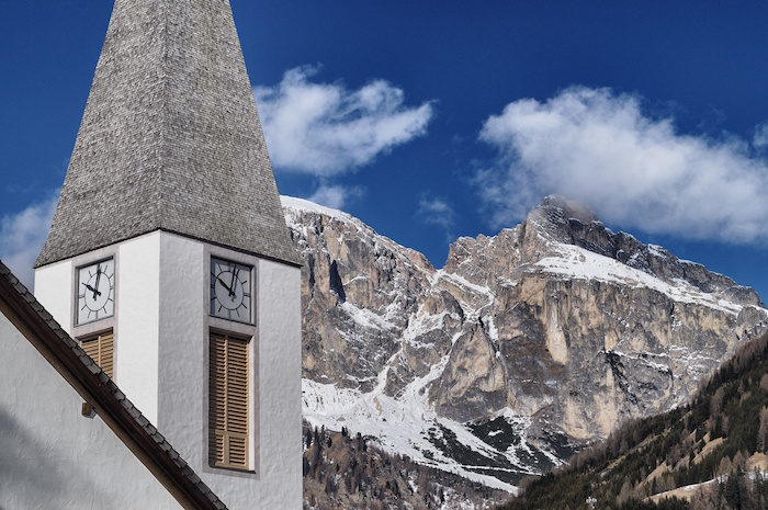 Dolomiti Superski Kirch ein Corvara