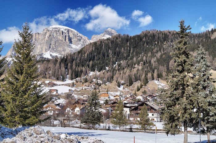 Dolomiti Superski Landschaft Corvara