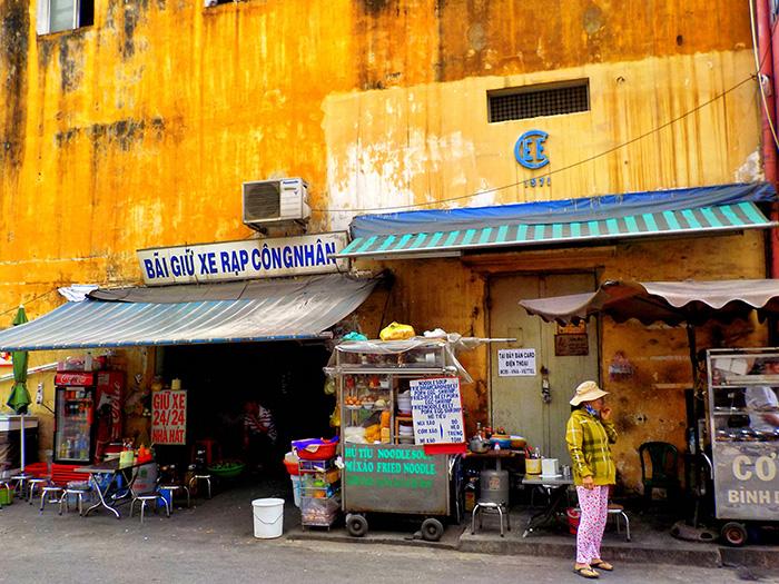 Ho Chi Minh City Backpackerviertel