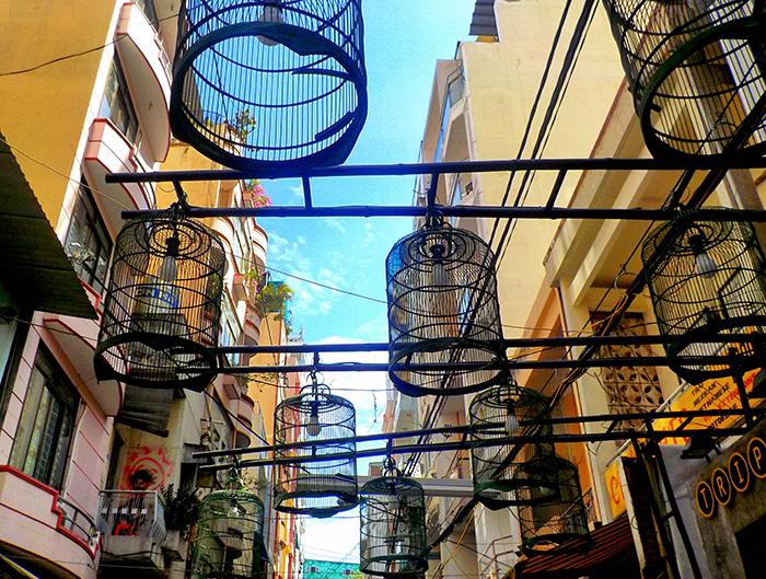Ho-Chi-Minh-Straßendeko