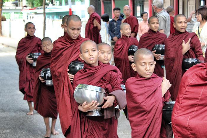 Mandalay-Kloster