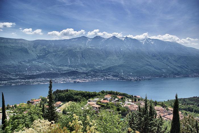 Tremosine-Berge-Dorf