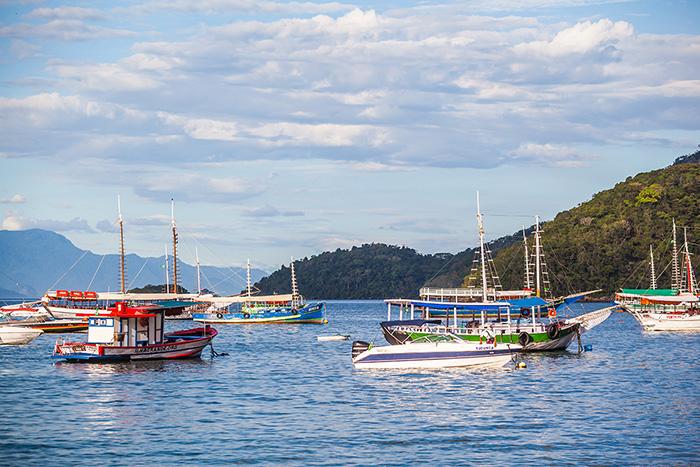Urlaub-in-Brasilien-Segelboote
