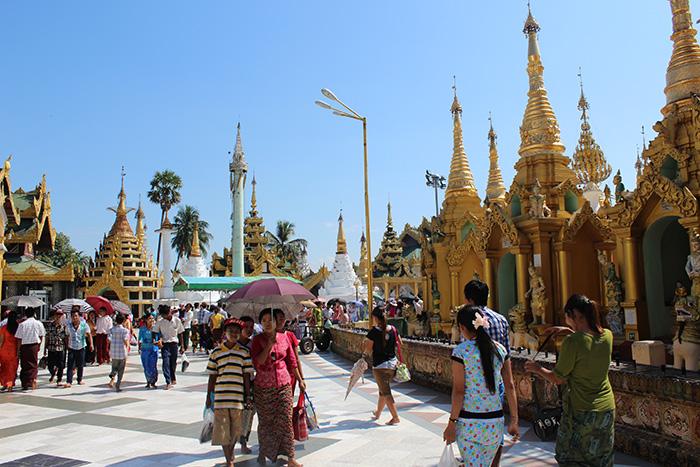 Myanmar Reise - Yangon-Shwedagon