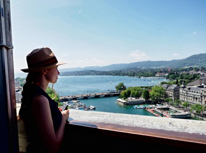 Zürich-Ausblick