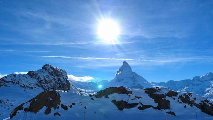 Ausblick Matterhorn