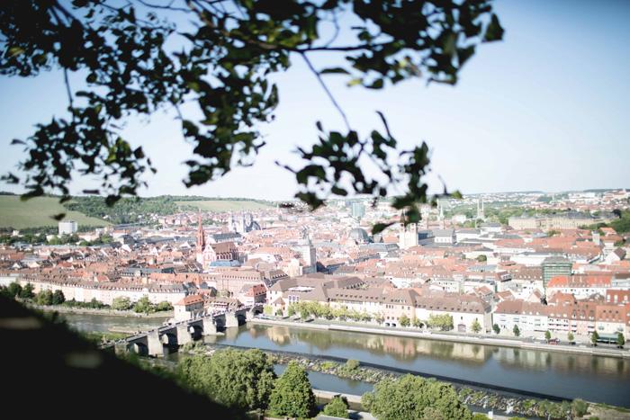 Aussicht auf Würzburg