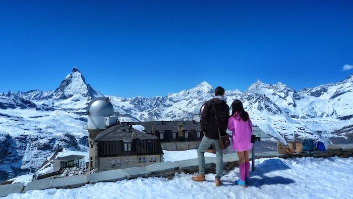 Aussicht Zermatt Matterhorn