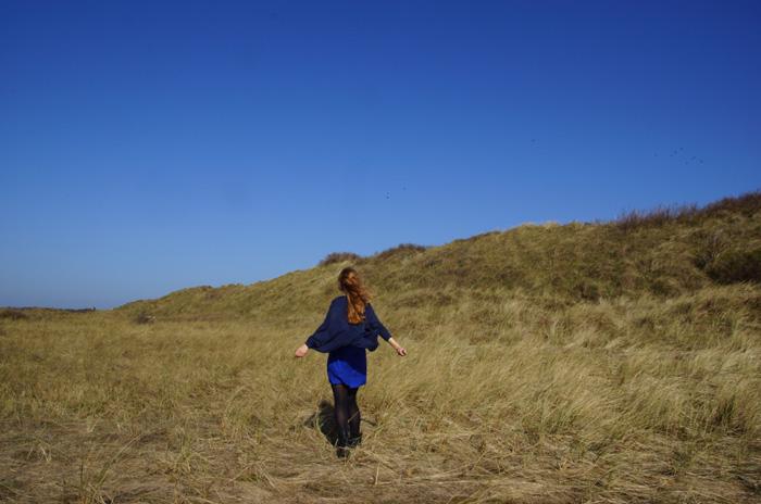 blaues-Kleid