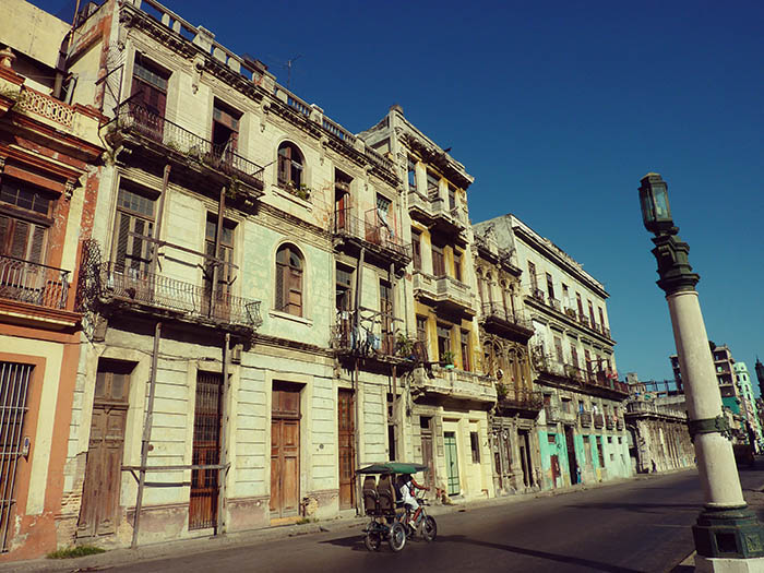Reise nach Kuba - Havanna_Haeuserfassade
