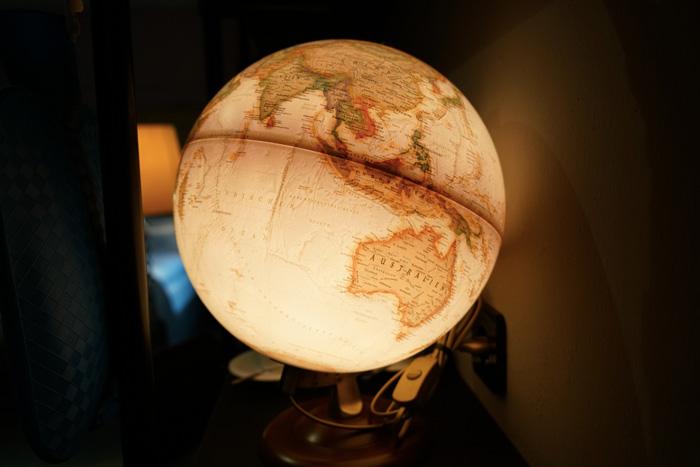 leichtender-Globus