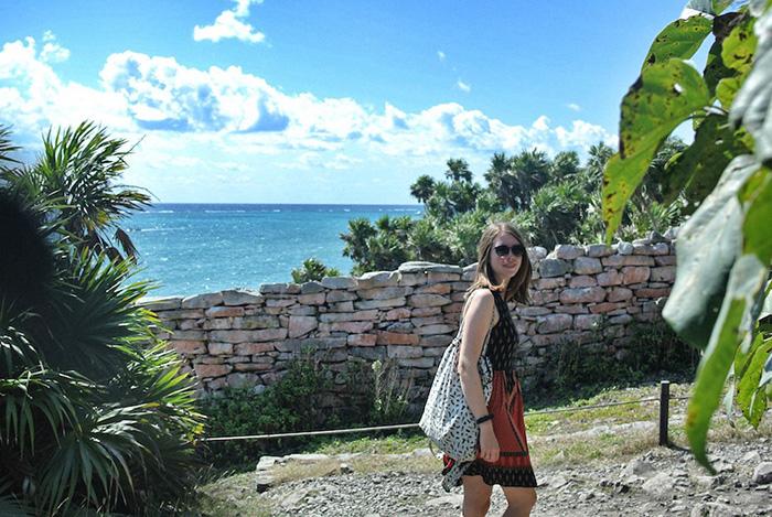 n-den-Ruinen-von-Tulum,-direkt-am-Meer-