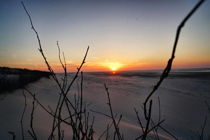 Sonnenuntergang-Juist