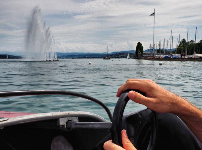 Tretboot-Zürichsee