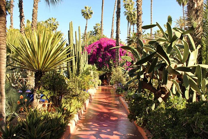Urlaub in Marrakesch Gartenweg