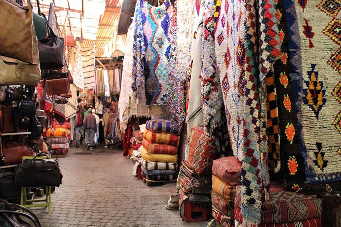 Urlaub-in-Marakkesch---Markt-und-Teppiche