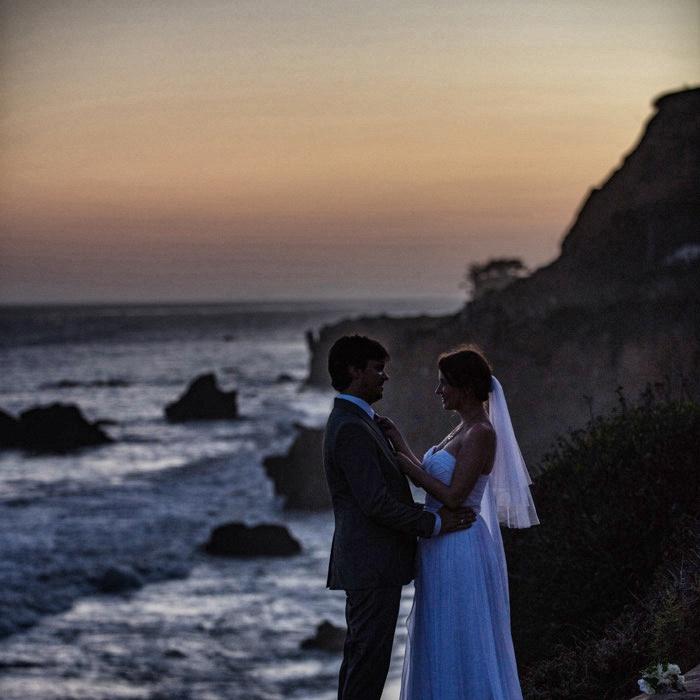 Hochzeit in Kalifornien-Brautpaar