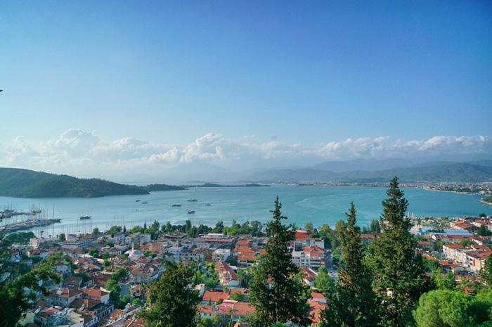 Aussicht-Fethiye