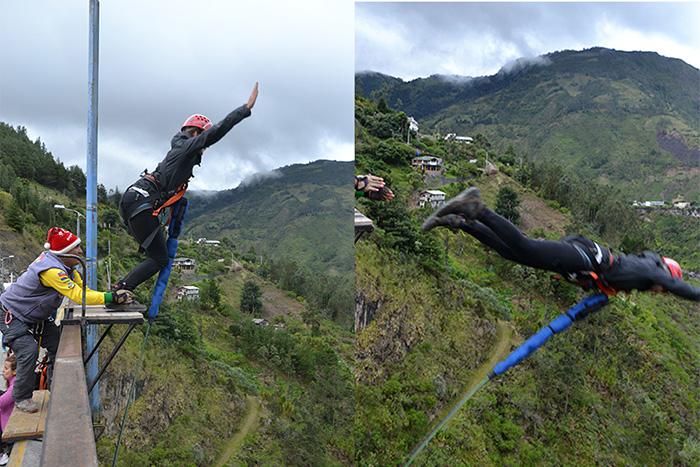 Ecuador-Abenteuer-Bungee