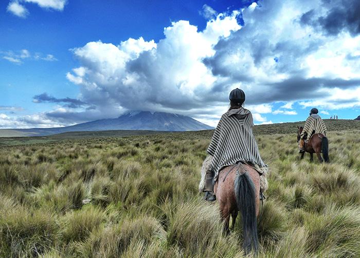 Ecuador-Abenteuer-Reiten