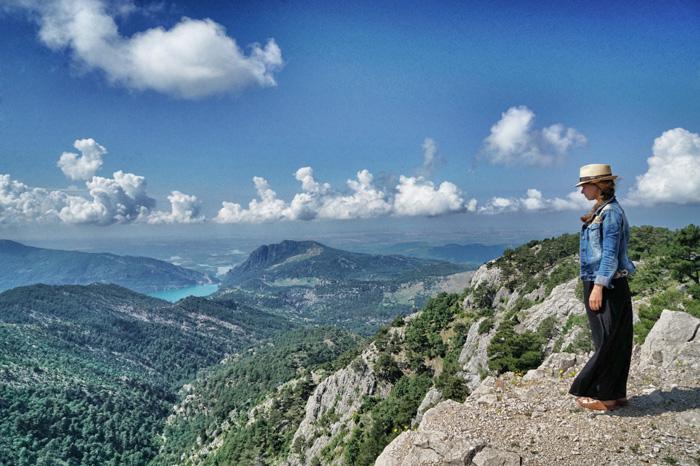 Gebirge-Tuerkei