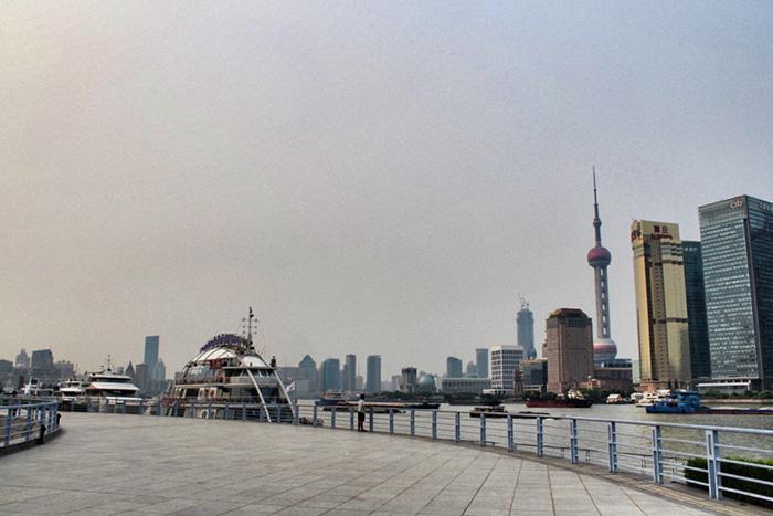 Hafenpromenade-Shanghai