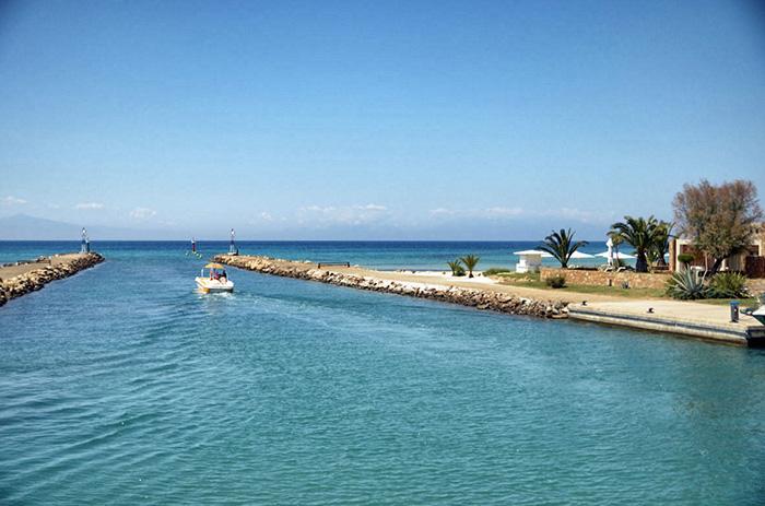Chalkidiki Reisetipps-Hafen