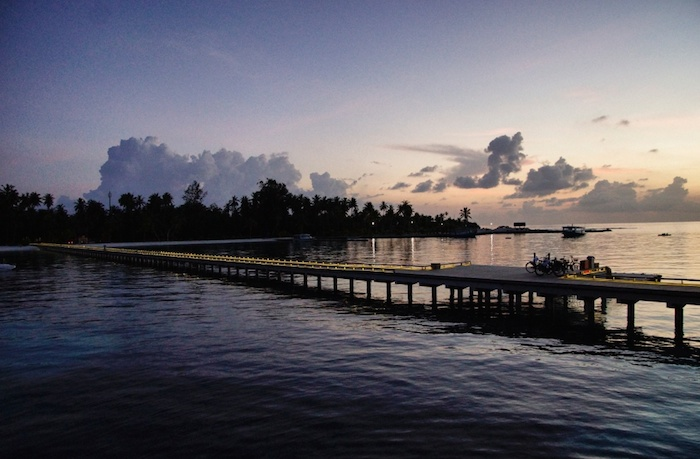 Malediven Abendstimmung