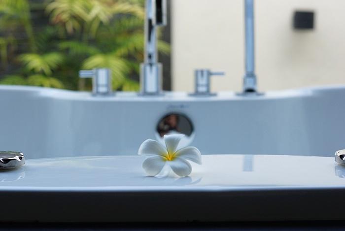 Malediven Badewanne