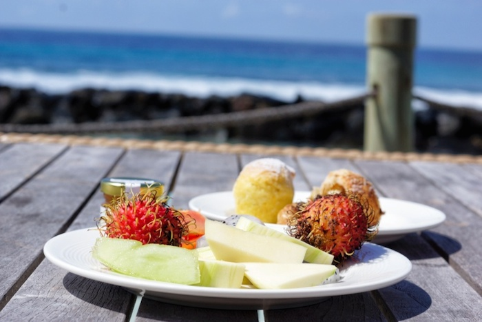 Malediven Frühstück
