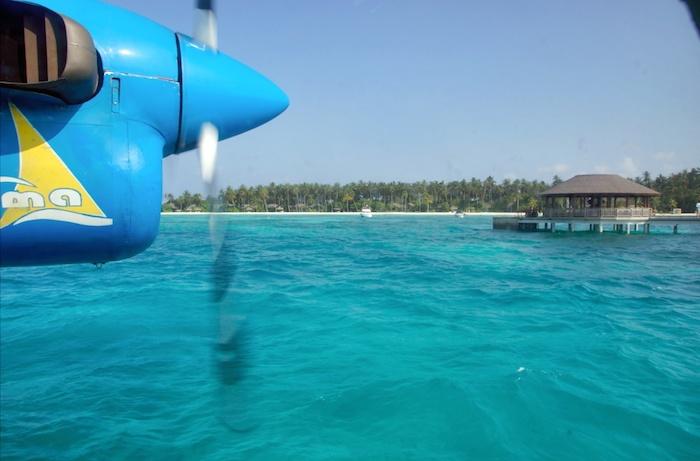 Malediven Landung