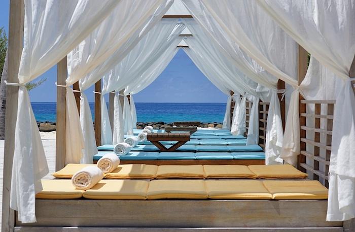 Malediven Poolbereich