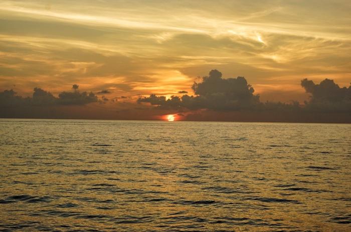 Malediven Sonnenuntergang 1